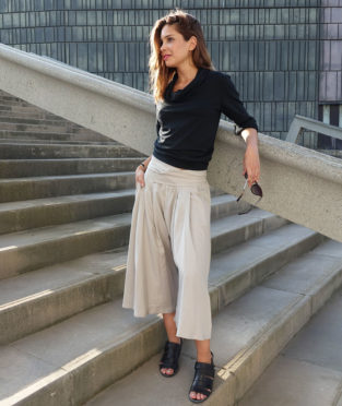 pantalón de tencel fabricado en España