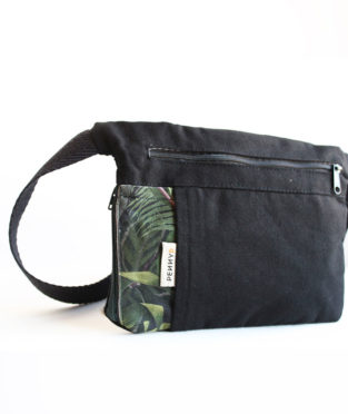 100% cotton bum bag ethically made in Barcelona