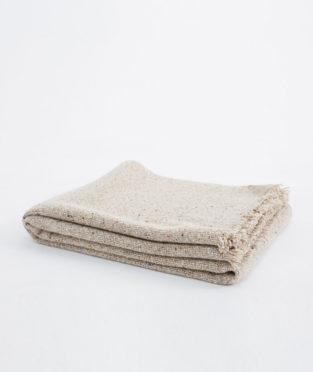 manta teixidors lana cordero y cachemir granito