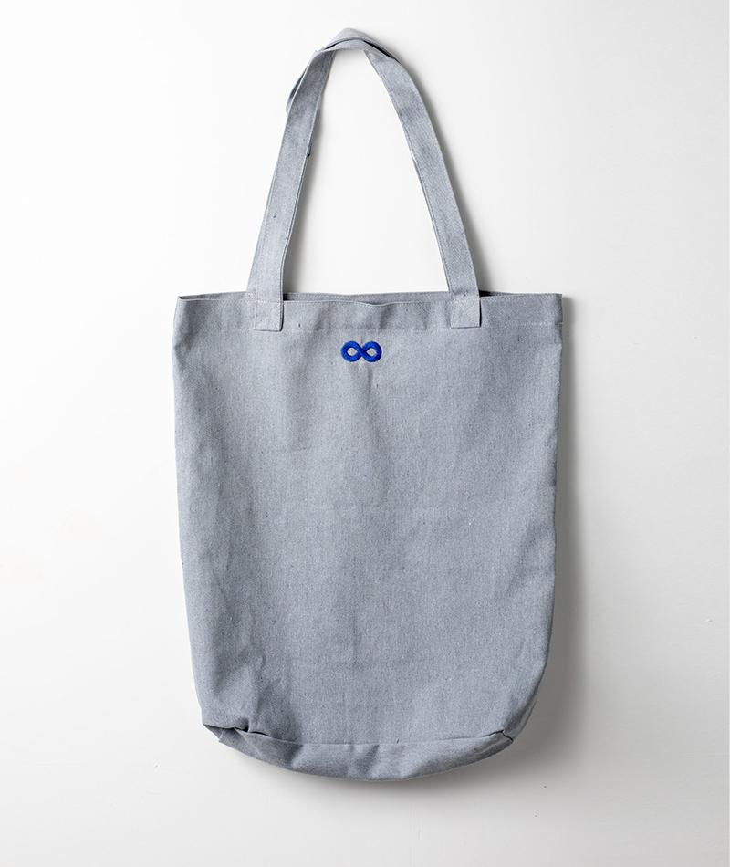 tote bag reciclada fabricada en españa gris