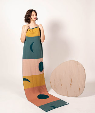 bufanda 100% lana merina fabricada en España