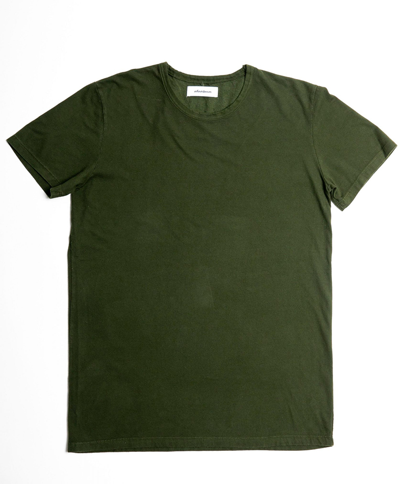 camiseta básica unisex algodón orgánico