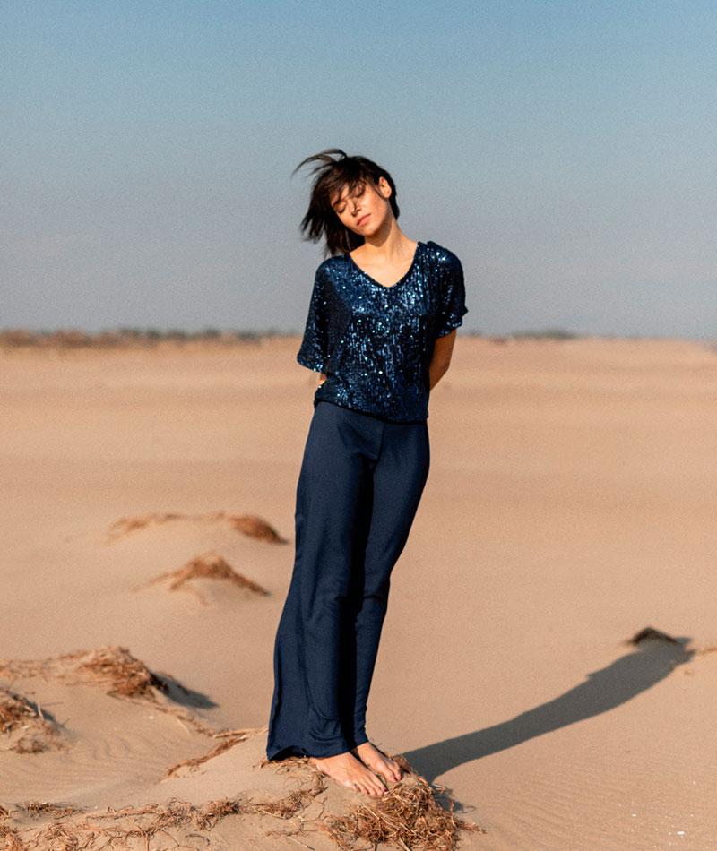 pantalones elegantes fabricados en España