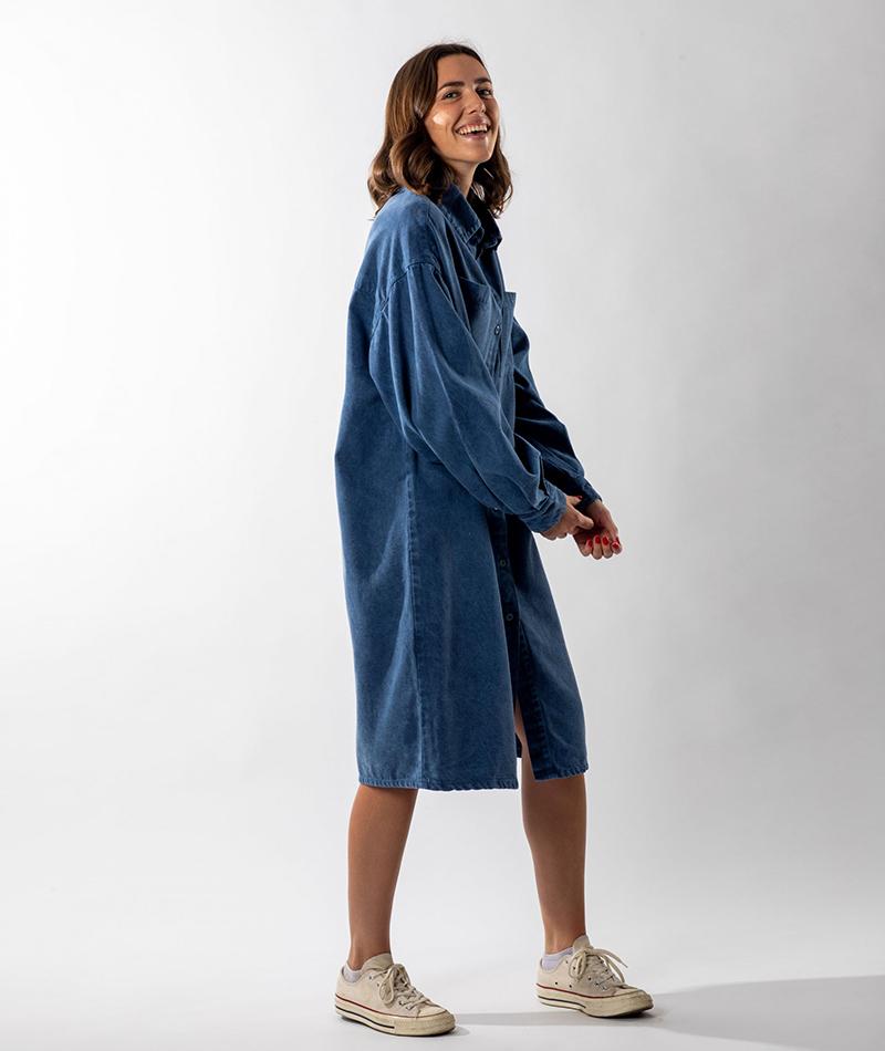 vestido azul infinit denim