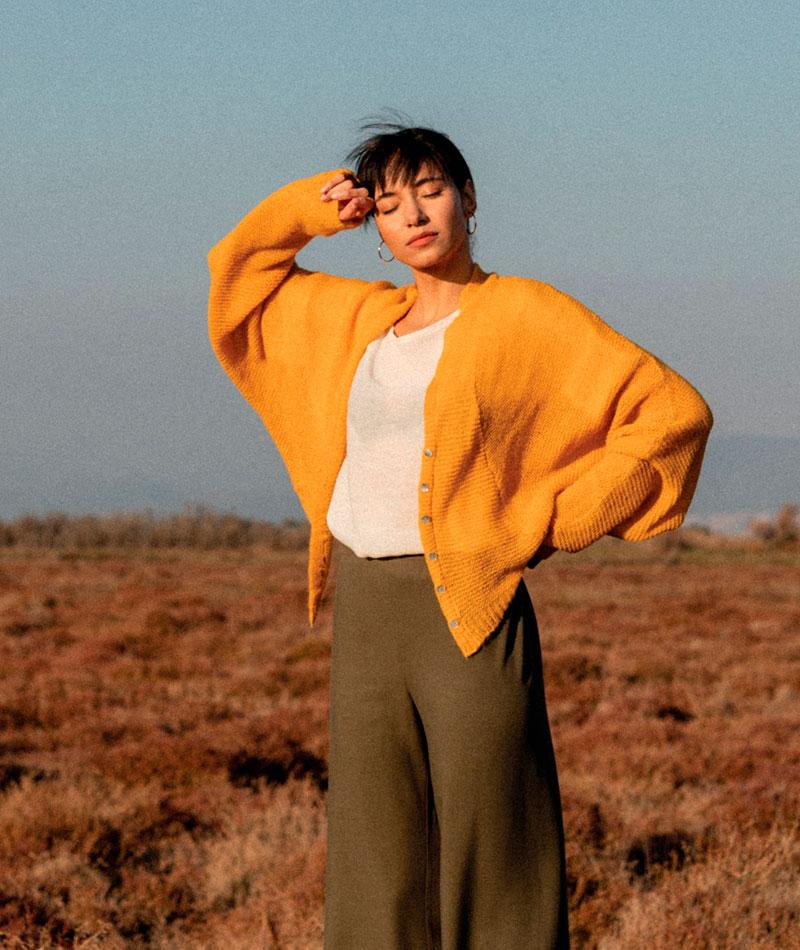 pantalones básicos de mujer hechos en barcelona