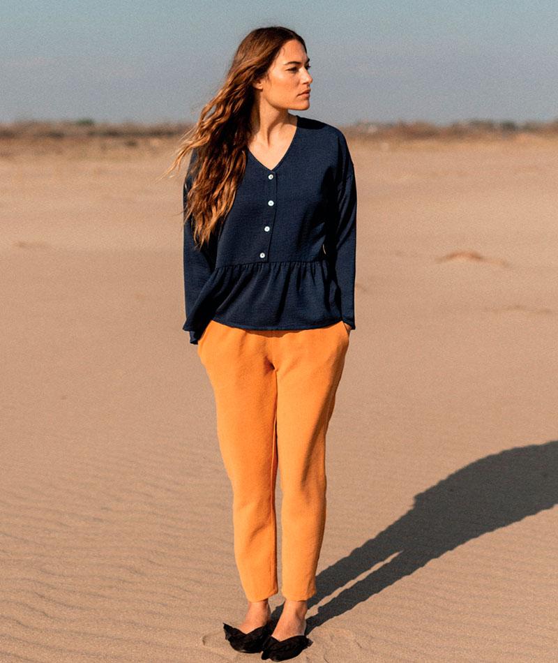 pantalones de mujer cómodos fabricados en España