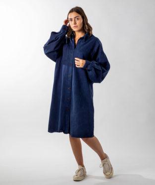 vestido reciclado infinit denim hecho en España