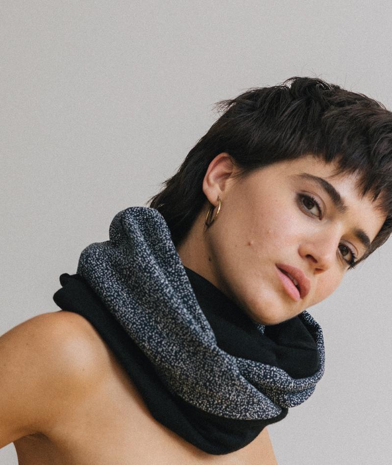 pañuelo tubular unisex hecho en España