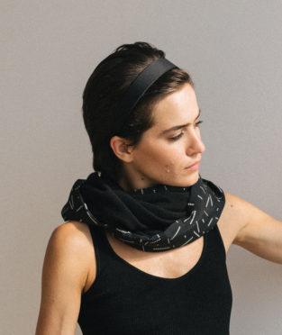 pañuelo tubular unisex fabricado en España