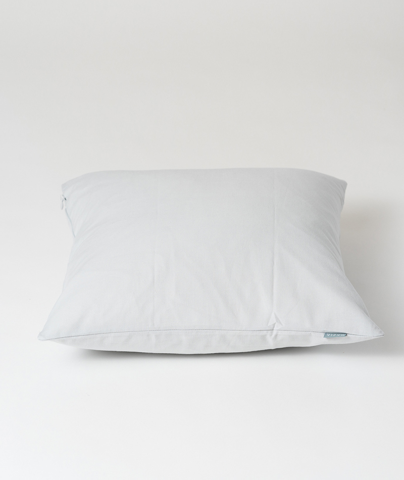 Cushion Cover made by 100% Organic Cotton Glacier