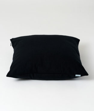 Cushion Cover made by 100% Organic Cotton Carbon