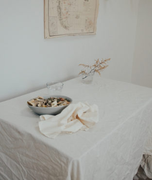 Napkins made by 100% Organic Cotton Nude