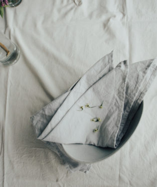 Napkins made by 100% Organic Cotton
