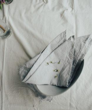 servilletas algodón orgánico GOTS