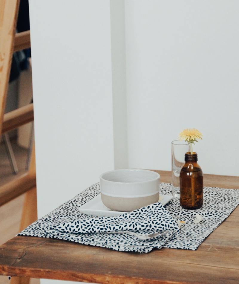 Napkins made by 100% Organic Cotton Lingon