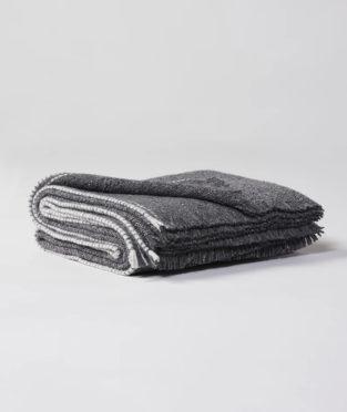 Teixidors merino wool and silk bedspread Urano