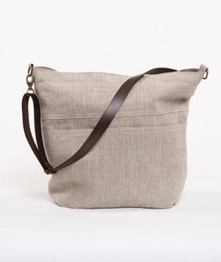 bolso de lino vegano hecho en España
