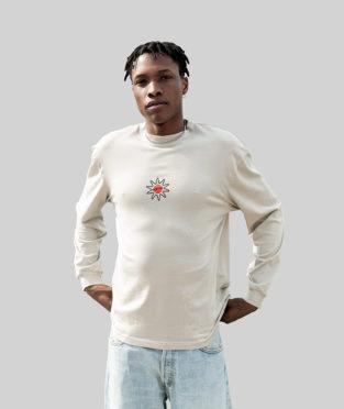 camiseta manga larga algodón orgánico
