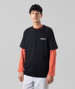 camiseta básica negra 100% algodón orgánico