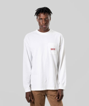 camiseta blanca manga larga 100% algodón orgánico