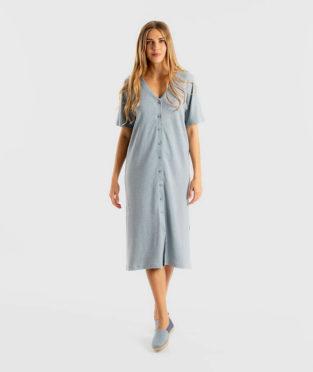 vestido camisero reciclado Infinit Denim