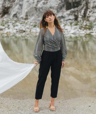 pantalones cómodos de viscosa fabricados en España