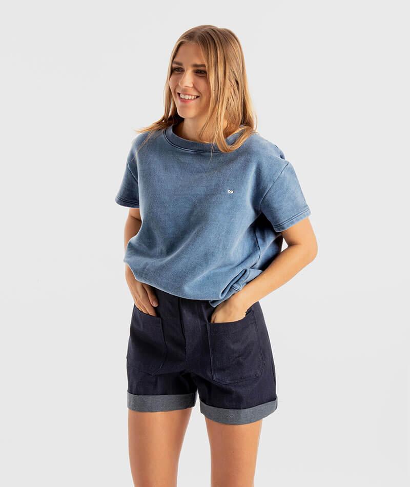 pantalones cortos vaqueros hechos en España