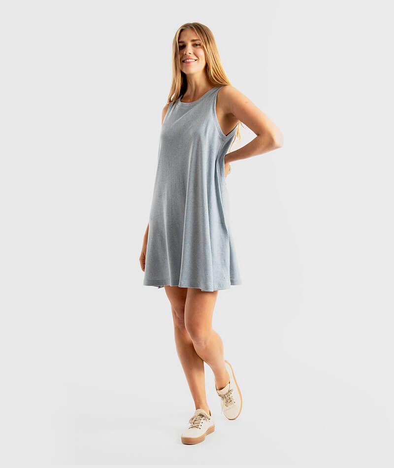 vestido tank reciclado infinit denim barcelona