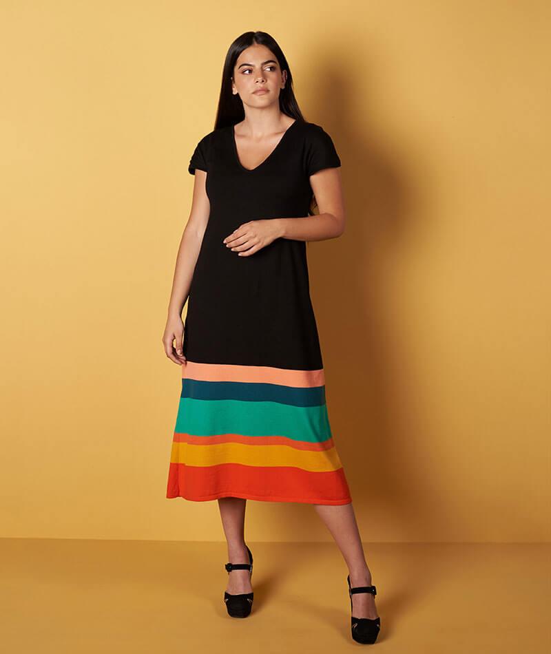 vestido algodón egipcio malevich