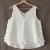 blusa blanca 100% algodón orgánico