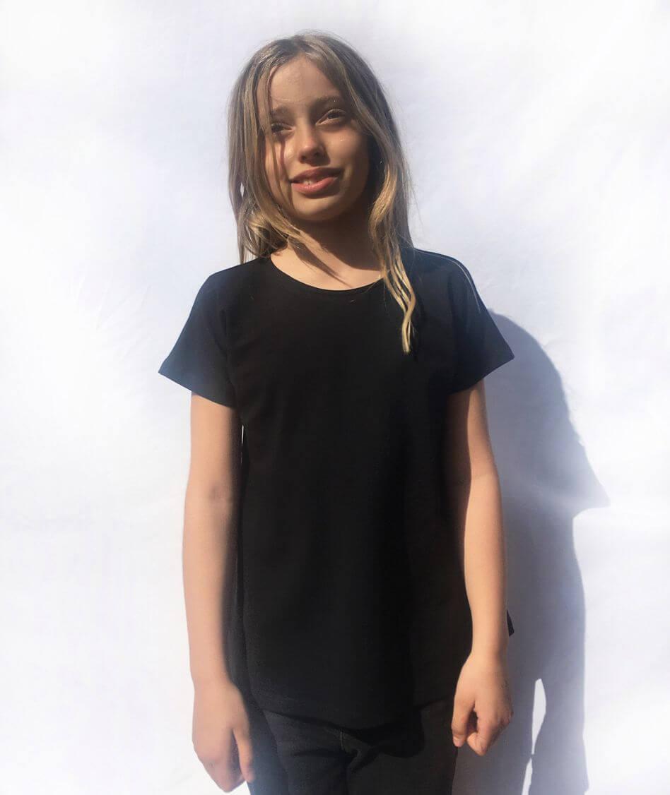 camiseta infantil algodón orgánico hecha en España