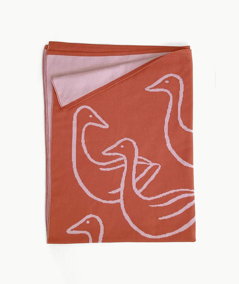 manta 100% algodón egipcio hecha en españa