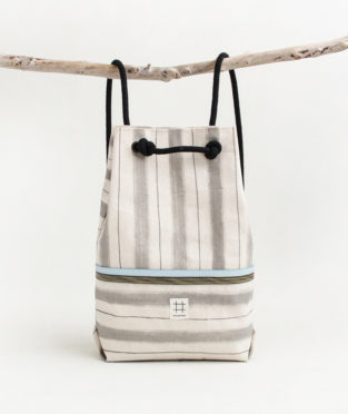 mochila 100% algodón hecha a mano en Barcelona