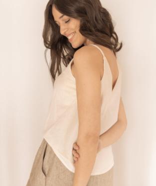 blusa de algodon hecha en Barcelona