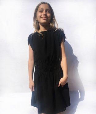 vestido infantil algodón orgánico hecho en Mallorca