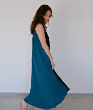 vestido algodón orgánico fabricado en España