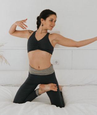 top de yoga de algodón hecho en España