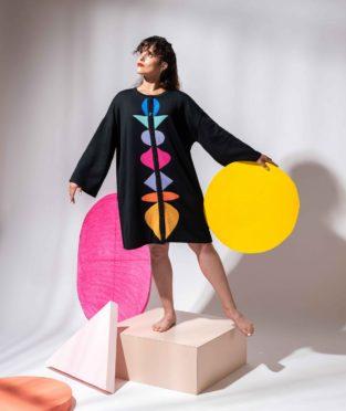 chaqueta 100% lana merina de colores hecha en españa